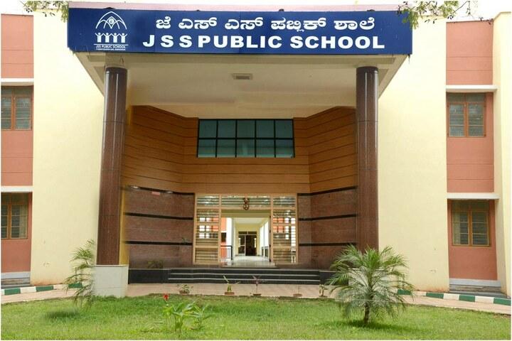 J S S Public School-School Front View