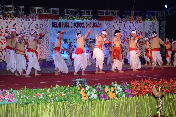 Delhi public school -Dhaligaon- dance