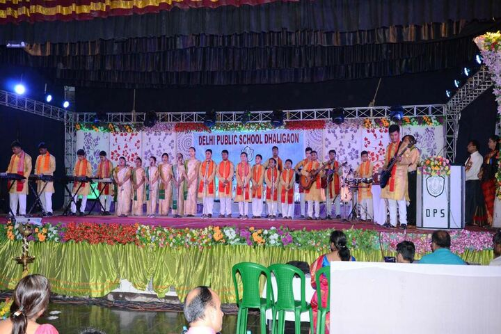 Delhi public school -Dhaligaon- music