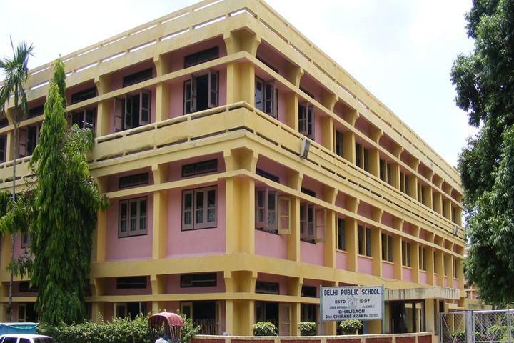 Delhi public school- Dhaligaon- school building