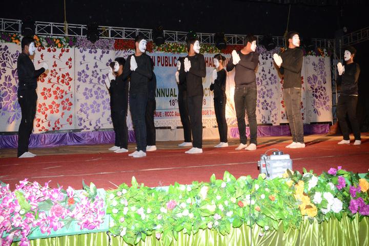 Delhi public school -Dhaligaon- skit