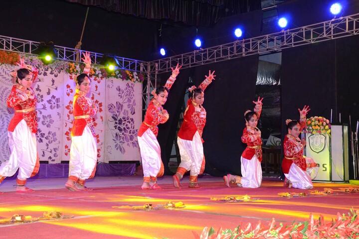 Delhi public school- Dhaligaon- traditional dance