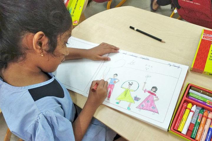 Jain Heritage School-Drawing