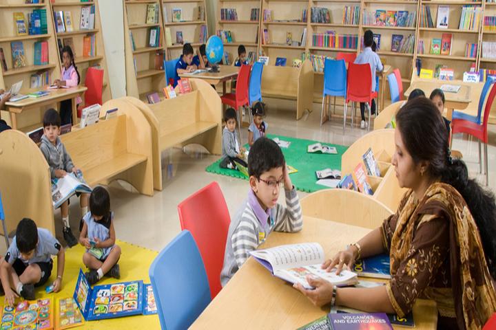 Jain Heritage School-Library