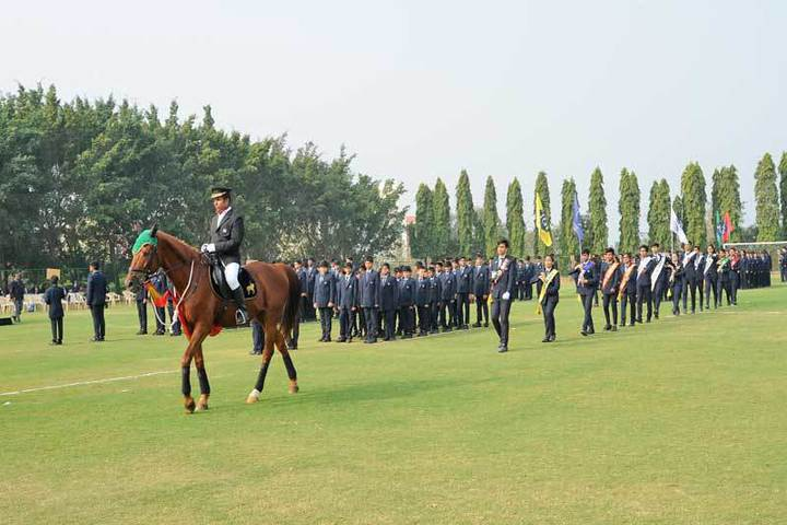Jain International Residential School-Horse Riding