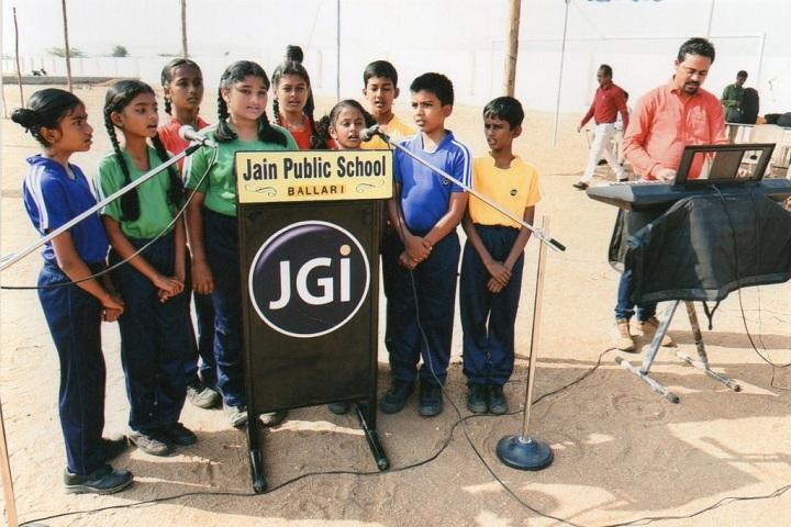 Jain Public School-Singing