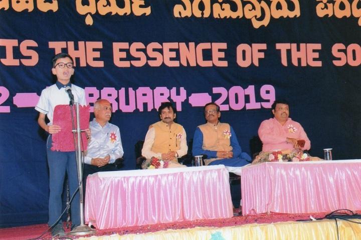 Jain Public School-Student Speech