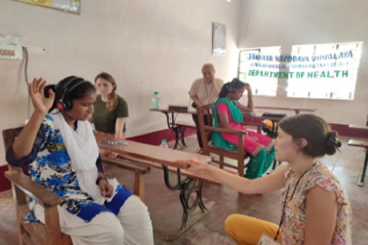Jawahar Navodaya Vidyalaya-Audiology Camp