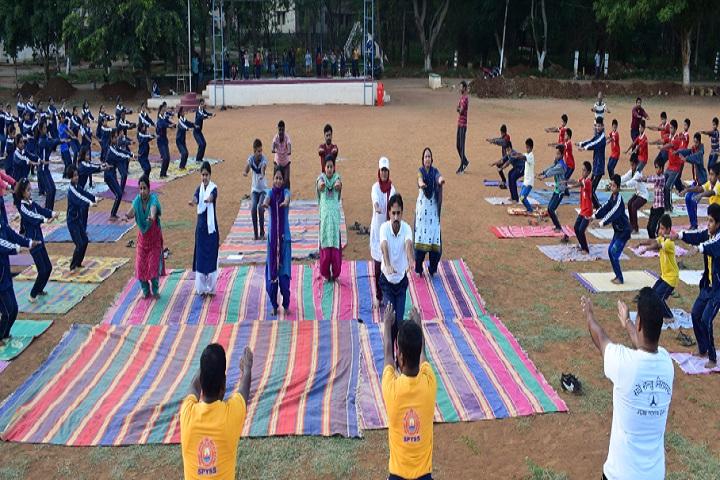 Jawahar Navodaya Vidyalaya-Yoga Day Celebrations