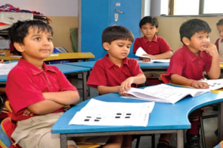 Delhi public school kamrup - Kindergarden classroom
