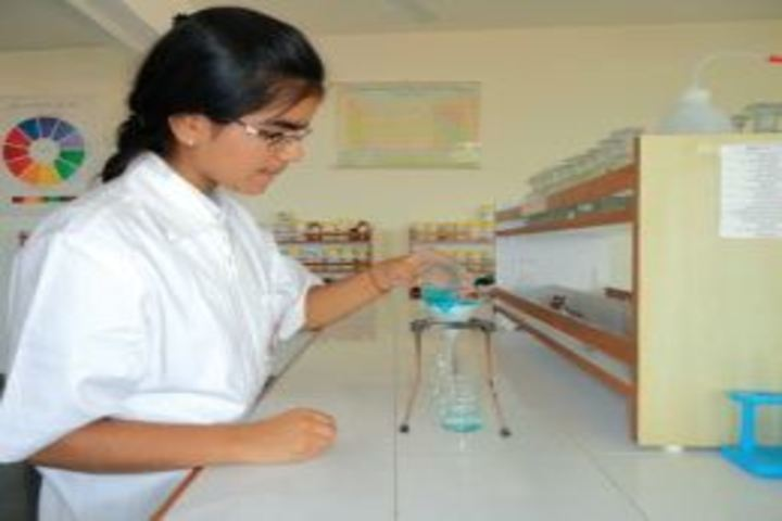Delhi public school kamrup - chemistry lab