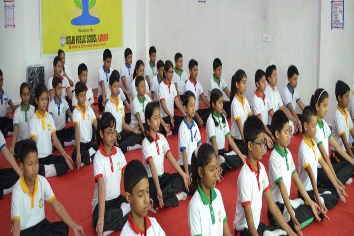 Delhi public school kamrup - yoga