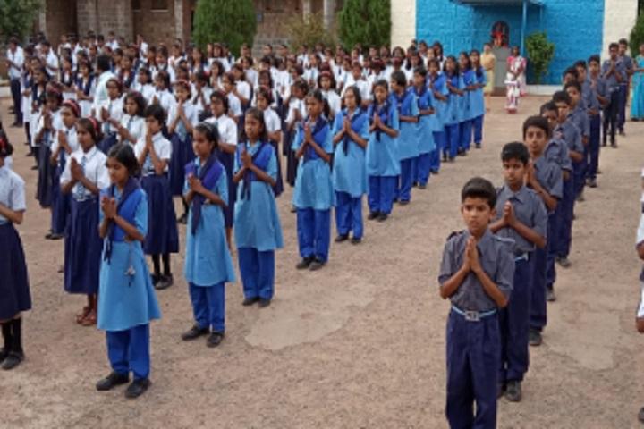 Jawahar Navodaya Vidyalaya-Morning prayer