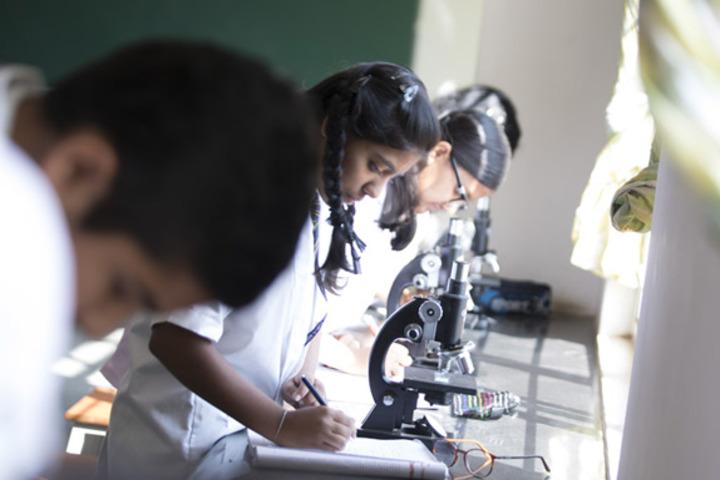 Jnana Sweekar Public School-Biology lab