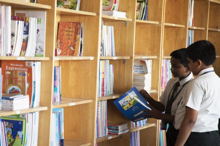 Jnana Sweekar Public School-Library