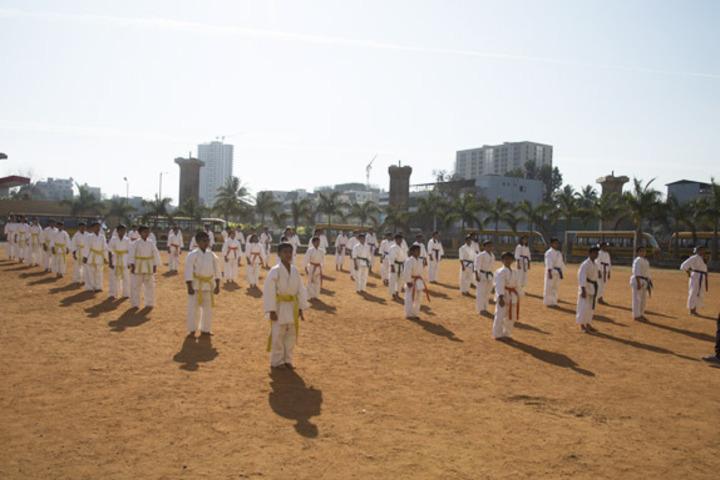 Jnana Sweekar Public School-Martial Arts