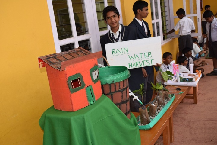 Jnanaganga Residential School-Science Exhibition