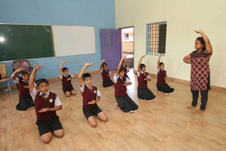 Jnanasagara Central School-Dance Room