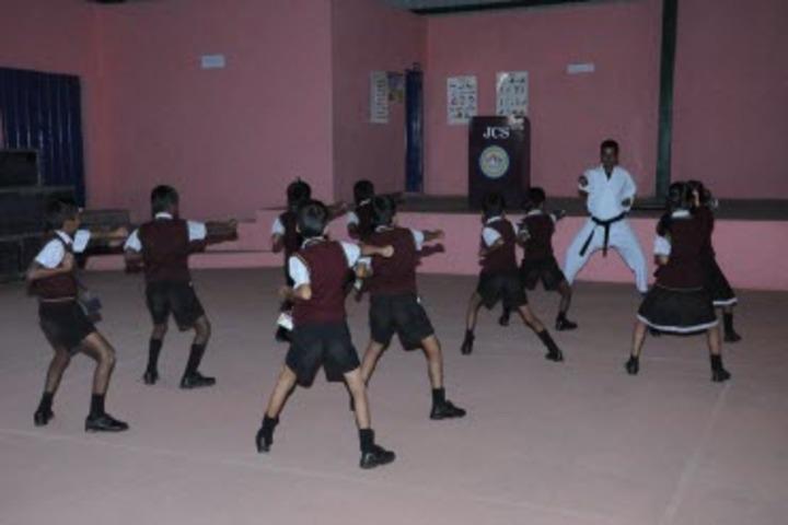 Jnanasagara Central School-Karate