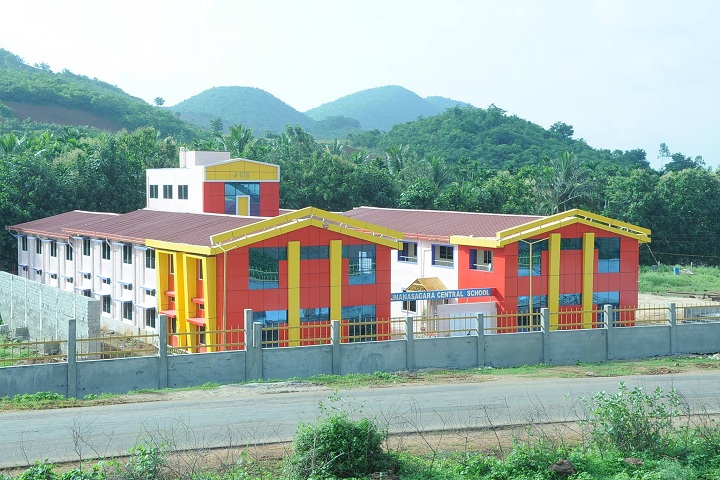 Jnanasagara Central School-School Building