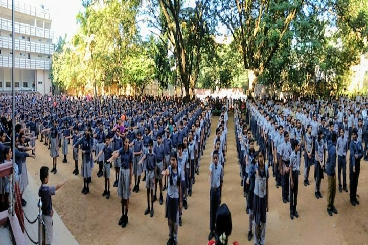 Jyothy Kendriya Vidyalaya-Assembly