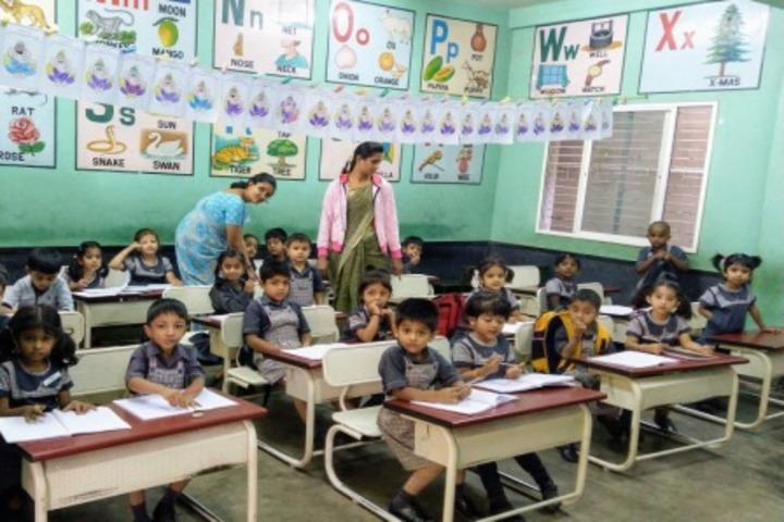 Jyothy Kendriya Vidyalaya-Kids Classroom