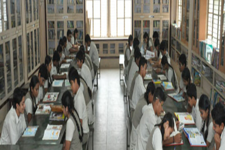 Jyothy Kendriya Vidyalaya-Library