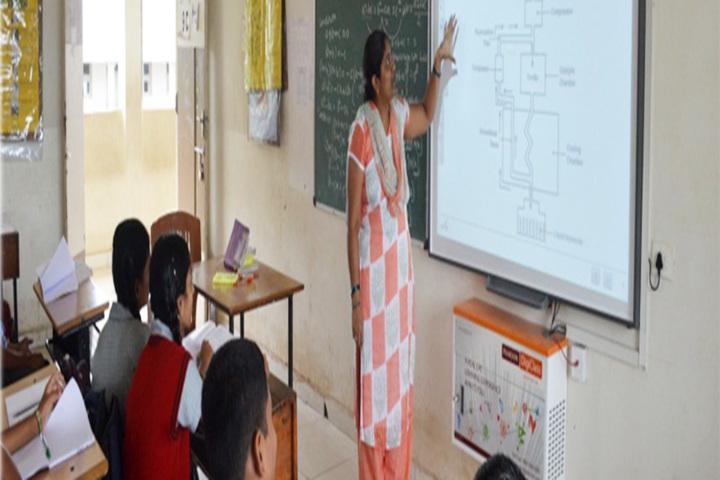 K L E SocietyS MR Sakhare English Medium Shcool-Classroom