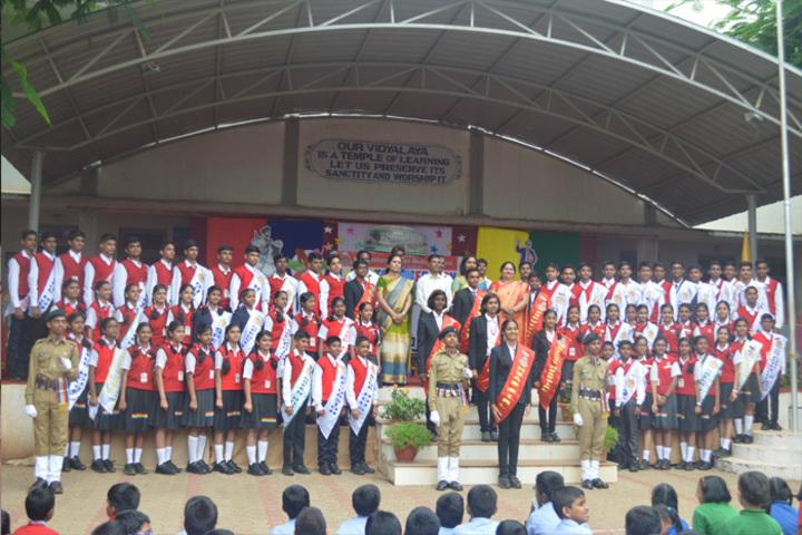 K L E SocietyS MR Sakhare English Medium Shcool-Investiture Ceremony