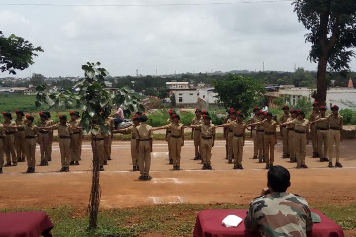 K L E SocietyS MR Sakhare English Medium Shcool-Scouts