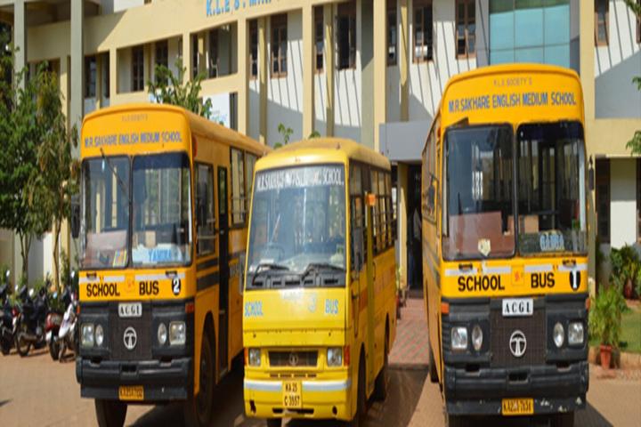 K L E SocietyS MR Sakhare English Medium Shcool-Transportation