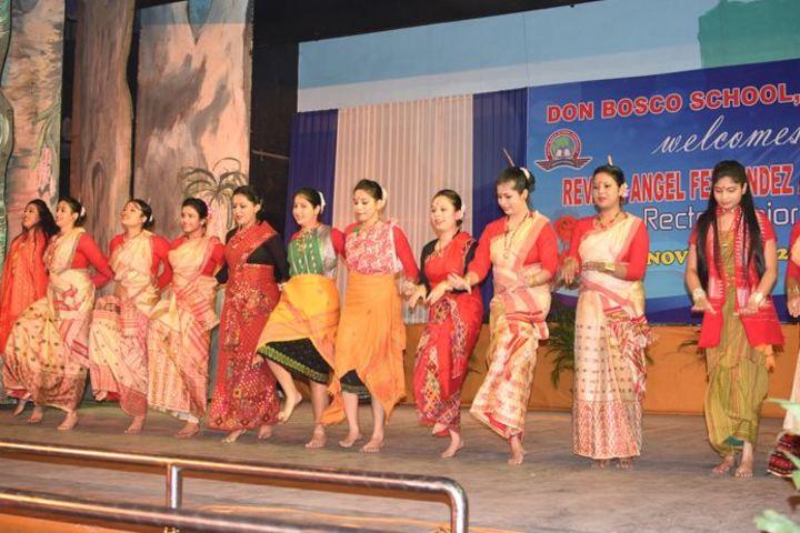 Don bosco school - dance