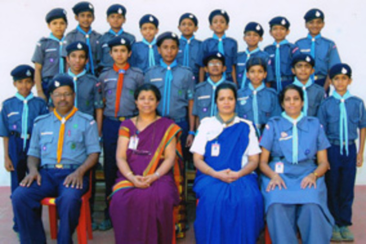 K L E Mahadevappanna Munavalli School- Scouts and Guides