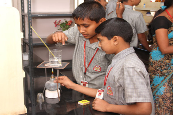 K L E Society- Chemistry lab