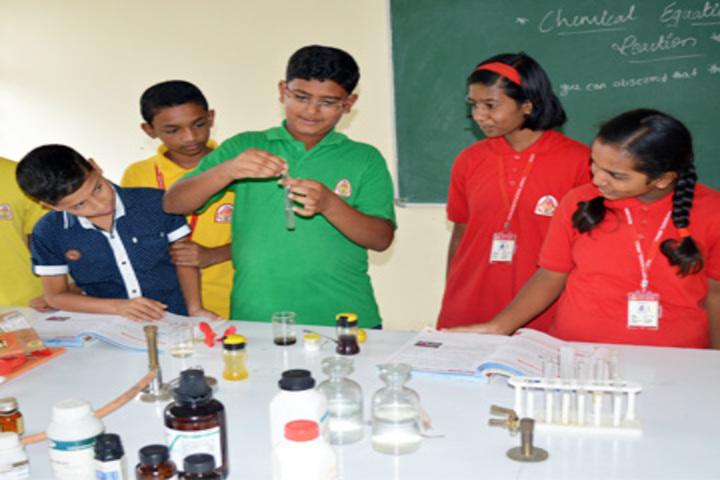 K L E Society s School- Science lab