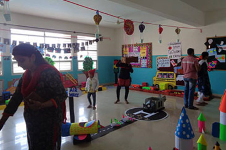 K M V Red Hills High School- Art and Craft Room