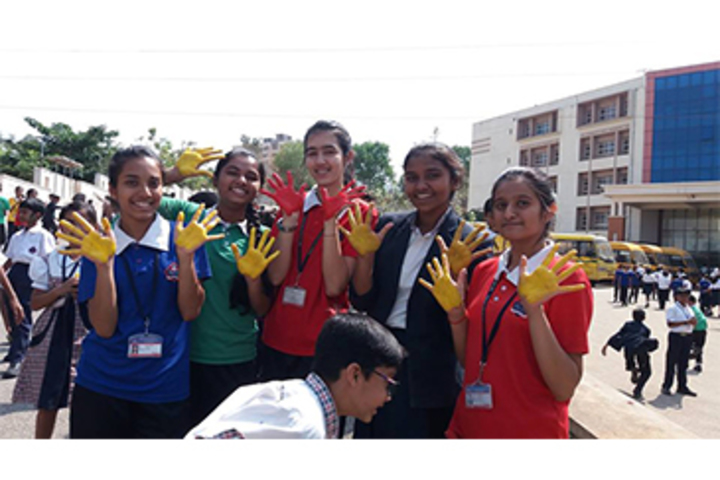 K M V Red Hills High School- Happiness Quotient day