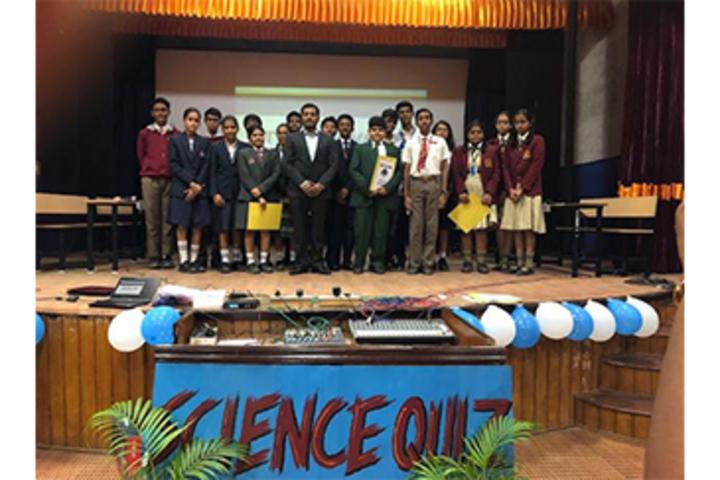 K M V Red Hills High School- Science Quiz