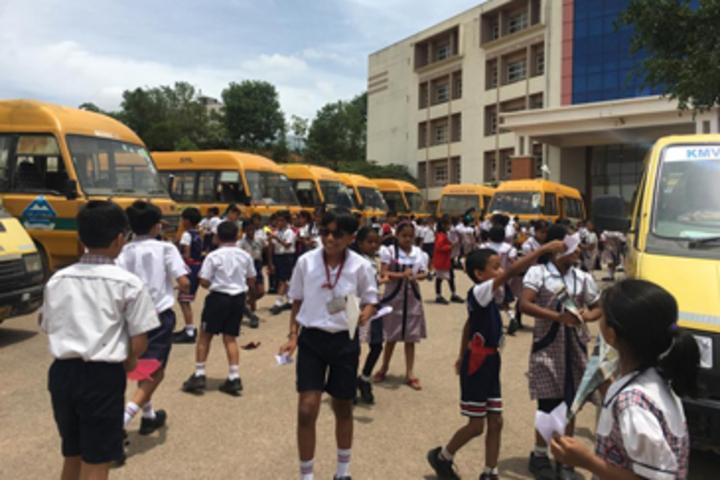 K M V Red Hills High School- Transport