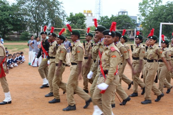 Kalpatru Central School- NCC