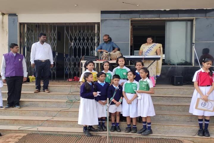 Kalpavruksha Model School-Group Singing