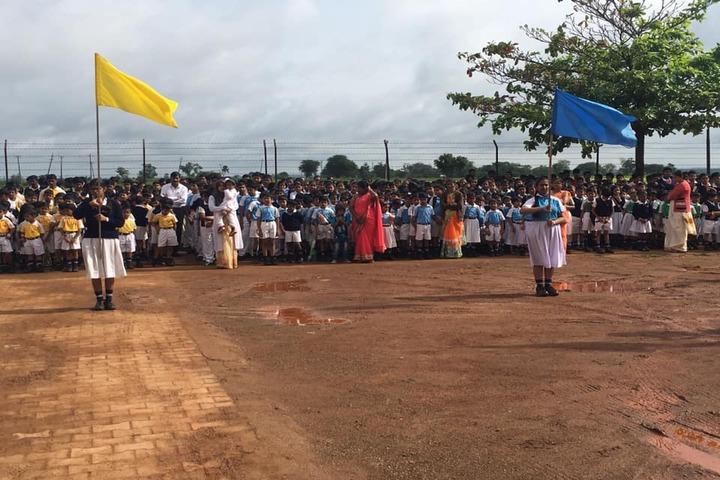 Kalpavruksha Model School-Investiture Ceremony