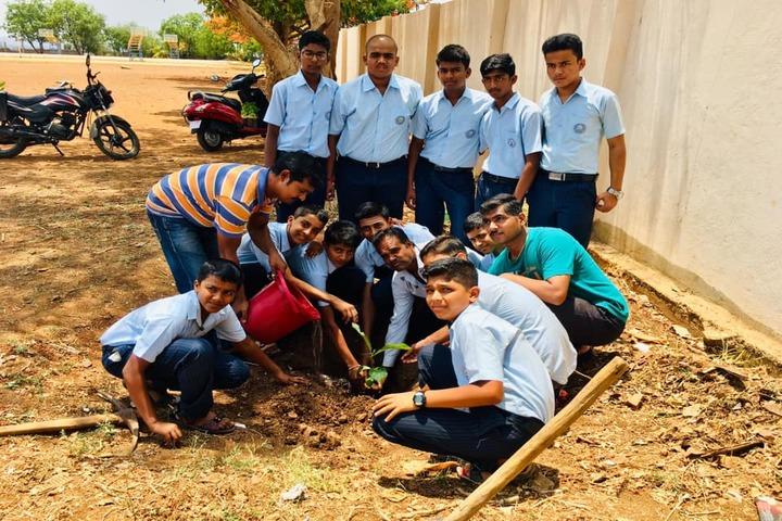 Kalpavruksha Model School-Plantation