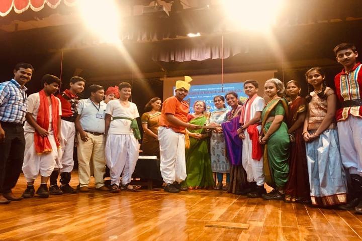 Kalpavruksha Model School-Prize Distribution