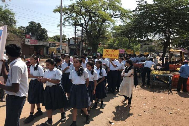 Kalpavruksha Model School-Rally