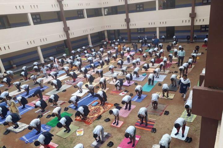 Kalpavruksha Model School-Yoga