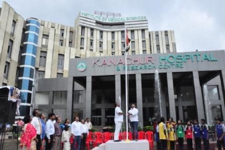 Kanachur Public School-Flag Hoisting