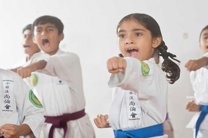 Kautilya Vidyalaya-karate