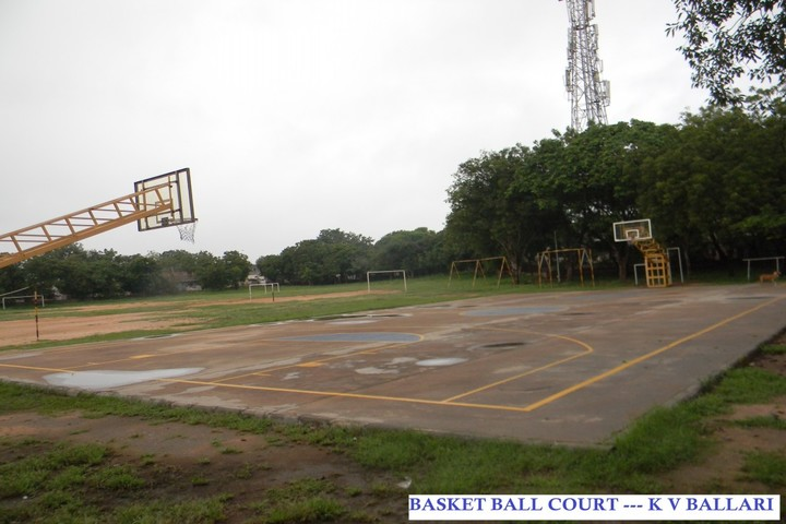 Kendriya Vidyalaya-Basketball Court