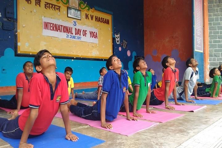 Kendriya Vidyalaya- Yoga